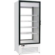 Шкаф холодильный ШВУП1(2)ТУ-0,75С2(В/Prm)(Solo GD со стекл. дверью и стекл.задн. стенкой)
