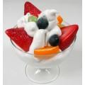 Муляж Мороженое с фруктами, 14см., (полимер) 0122913