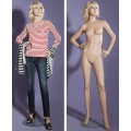 Манекен женский (с макияжем, париком) LG-96